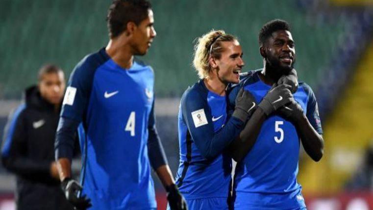 Francia se asegura estar en la repesca para el Mundial