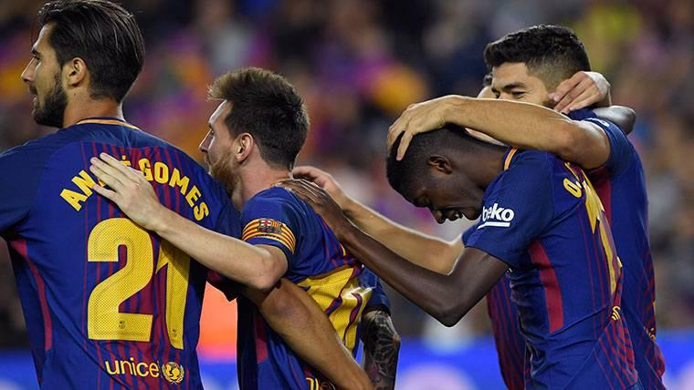 Enfado de André Gomes por algo que nunca dijo de Messi