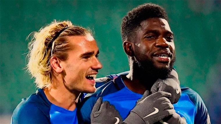 El guiño de Umtiti sobre el fichaje de Griezmann por el Barça