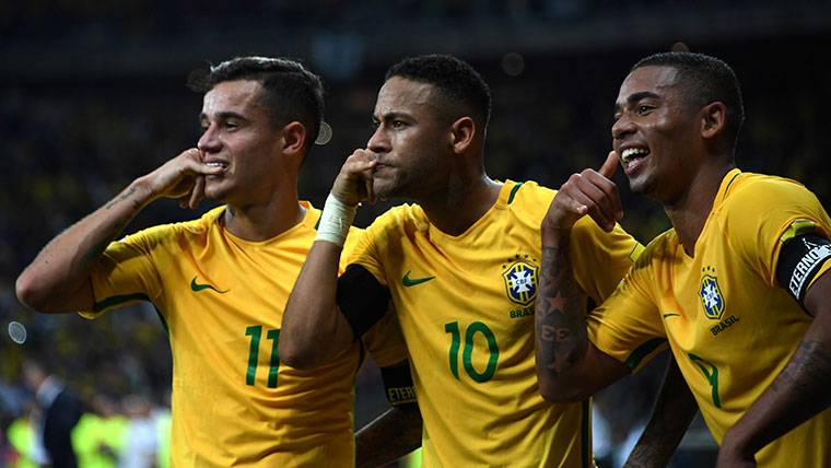 Empieza la ofensiva de Neymar para convencer a Coutinho