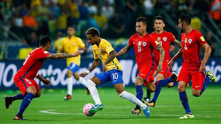 Cinco clasificadas de Sudamérica para el Mundial... ¡Sin Chile!