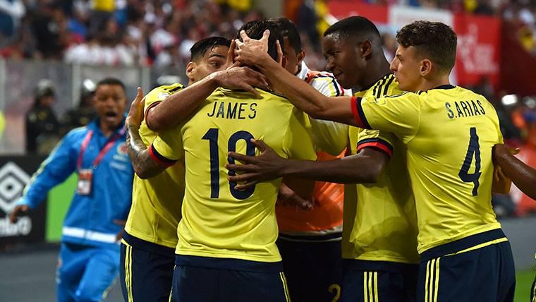 James sigue demostrando en Colombia que es una estrella