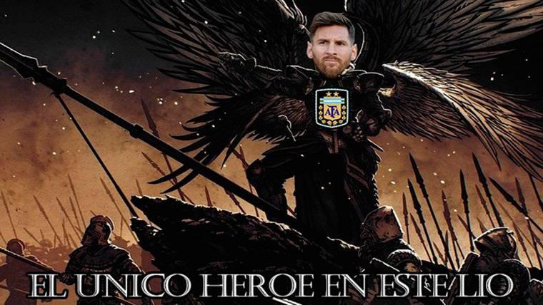 Los mejores 'memes' de la gesta de Messi con Argentina