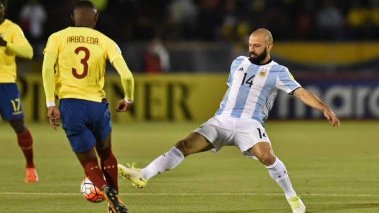 Mascherano pone fecha a su retirada con Argentina