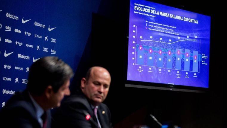 El Barcelona anunciando presupuestos excepcionales