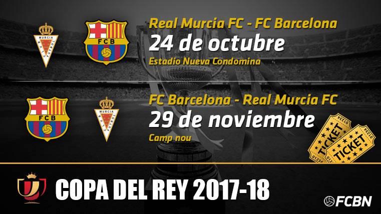 Entradas FC Barcelona vs Real Murcia - Copa del Rey