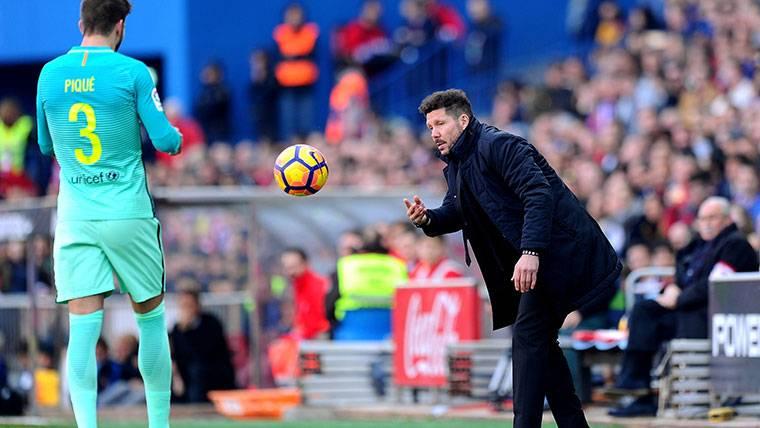Koke y Simeone elogian el partido de Lionel Messi