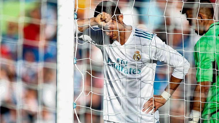 ¡El imperdonable fallo de Cristiano Ronaldo a puerta vacía!