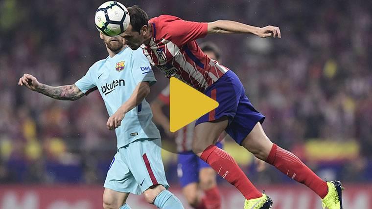 Vídeo resumen: Atlético 1 FC Barcelona 1 (LaLiga J8)