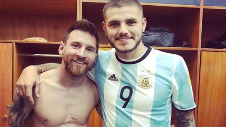 ZASCA: El mensaje con doble sentido de Icardi con Messi