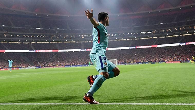 Luis Suárez, uno de los mejores goleadores ligueros del Barça