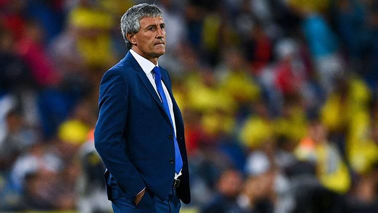 Setién aprovecha al Barça para atizar al Cholo Simeone