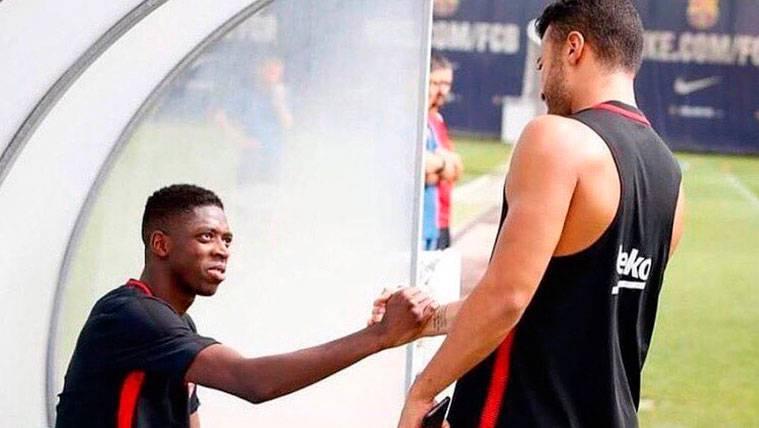 """""""No hay ningún problema, tenemos contrato con el Barça"""""""