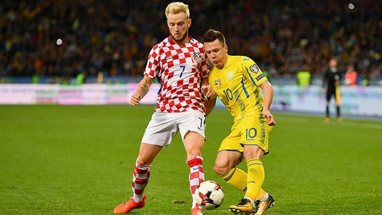 Rakitic ya sabe contra quién se jugará Croacia el Mundial