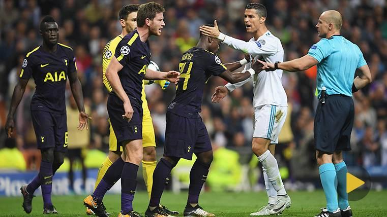 Cristiano, en otra agresión... Que se queda en amarilla