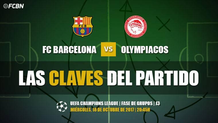 Las tres claves del Barcelona-Olympiacos de Champions (J3)