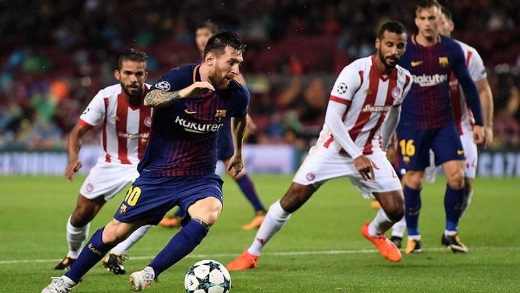 A Luis Suárez se le mojó la pólvora tras un jugadón de Messi