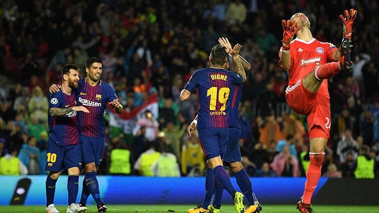 Lucas Digne, gol y oportunidad aprovechada con el Barça