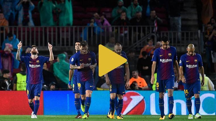 Vídeo resumen: FC Barcelona 3 Olympiacos 1 (Champions J3)
