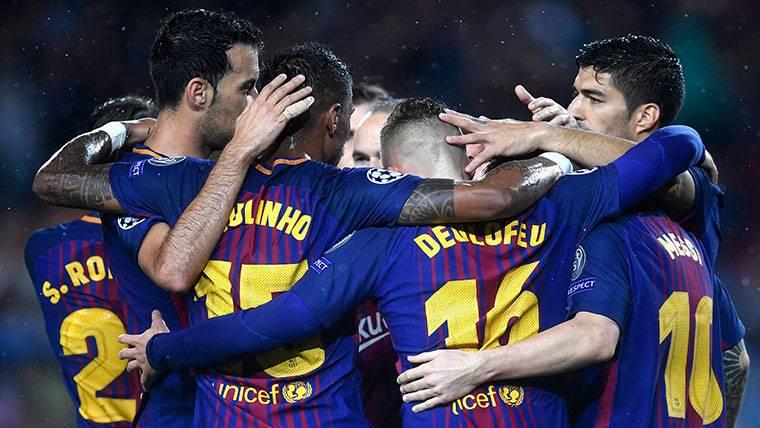 El Barça puede estar en 1/8 de Champions la próxima jornada
