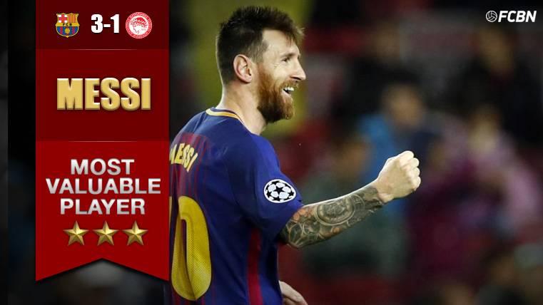 MVP: Leo Messi, centenario y desatado en el Camp Nou