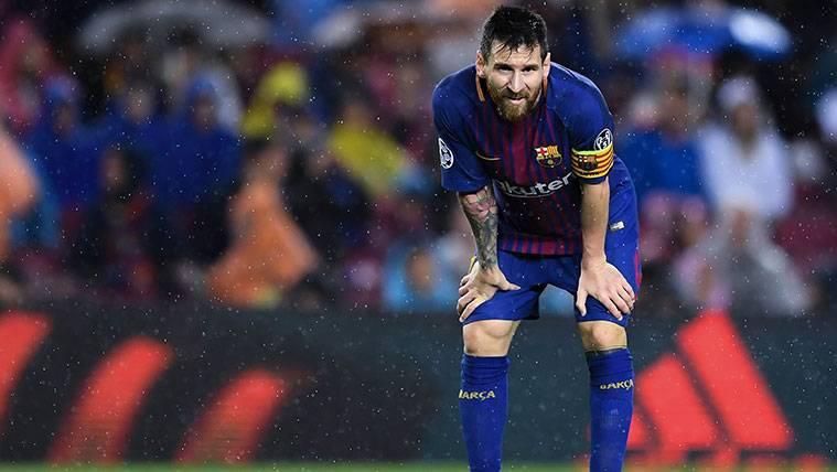 El desafío que Leo Messi quiere superar antes del parón