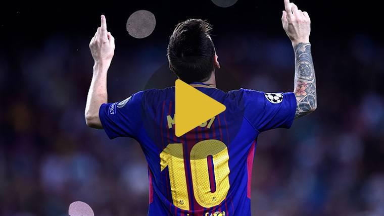 VÍDEO: No te pierdas los 100 goles de Leo Messi en Europa
