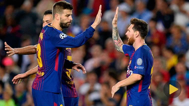 El mensaje de Piqué a Messi que ha reabierto la polémica