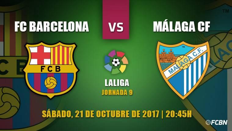 Barça-Málaga: A iniciar una nueva racha triunfal en Liga