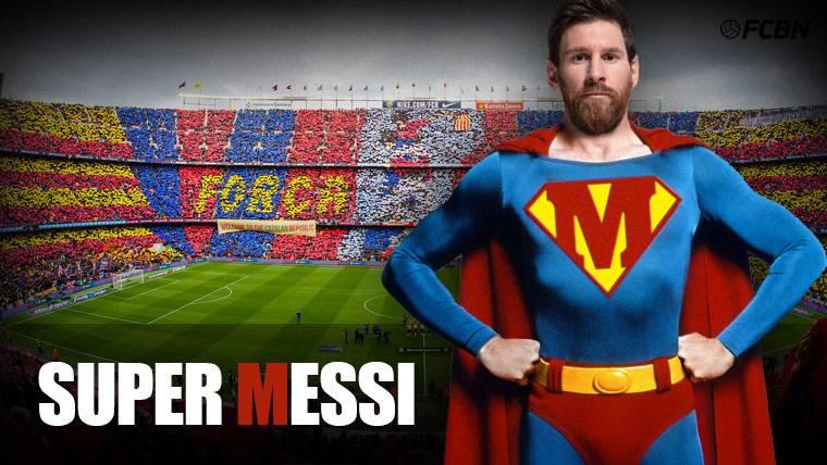 Messi, el 'Superman' que vela por la seguridad del Barça