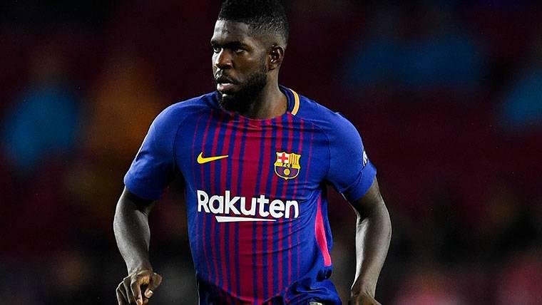 Se retrasa la mejora de contrato de Umtiti con el Barcelona
