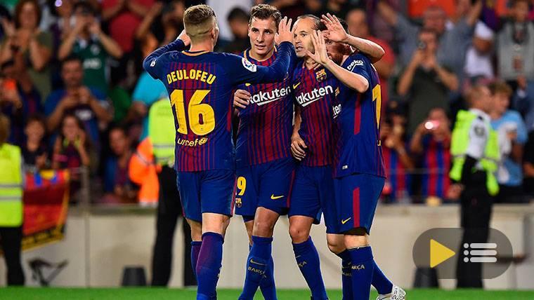 Vídeo resumen: FC Barcelona 2 Málaga 0 (LaLiga J9)