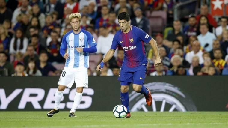 Luis Suárez se marchó enfadado pero muy ovacionado
