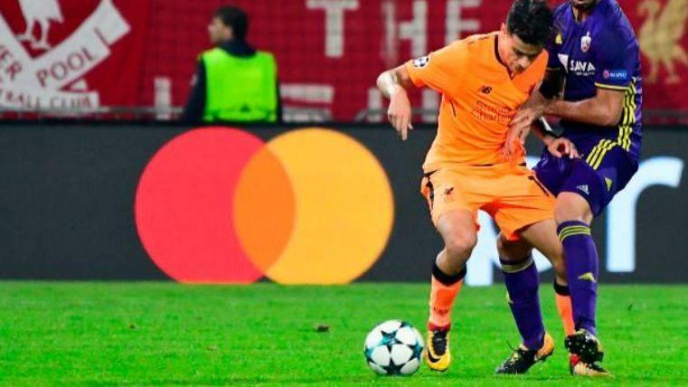 Klopp ya no ve imposible la salida de Coutinho al Barça