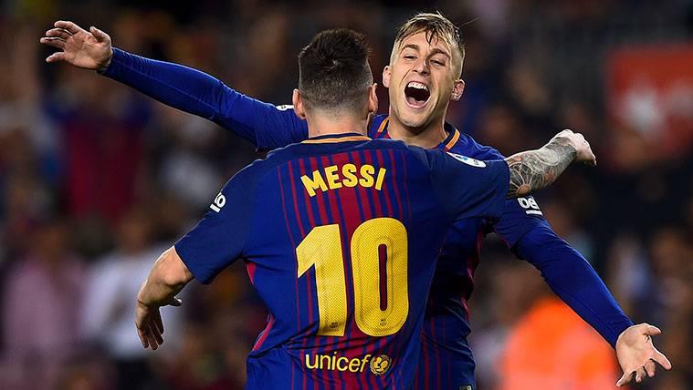 Su sintonía con Messi, un apoyo más para Gerard Deulofeu