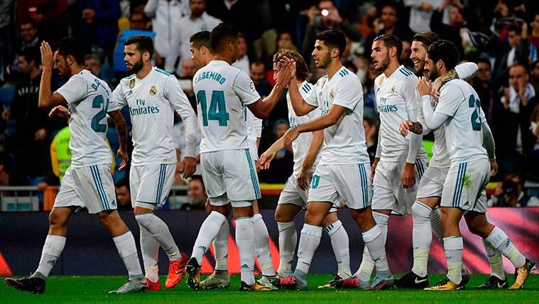 El Eibar se pierde y el Real Madrid respira en el Bernabéu