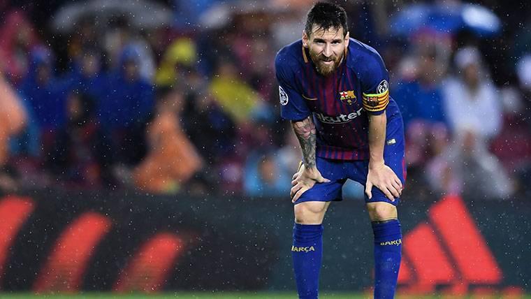 Revelan qué tomó realmente Messi ante Olympiacos