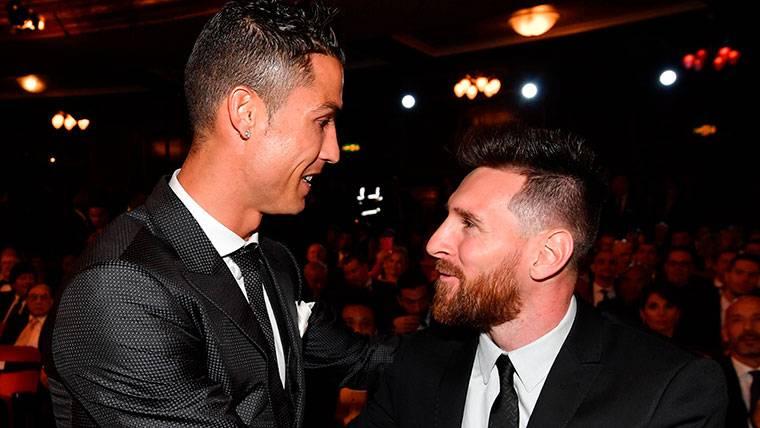 Así está la batalla Messi-Cristiano en los premios individuales