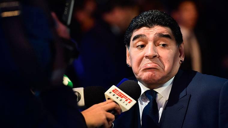 El tremendo mensaje de Maradona a Lionel Messi