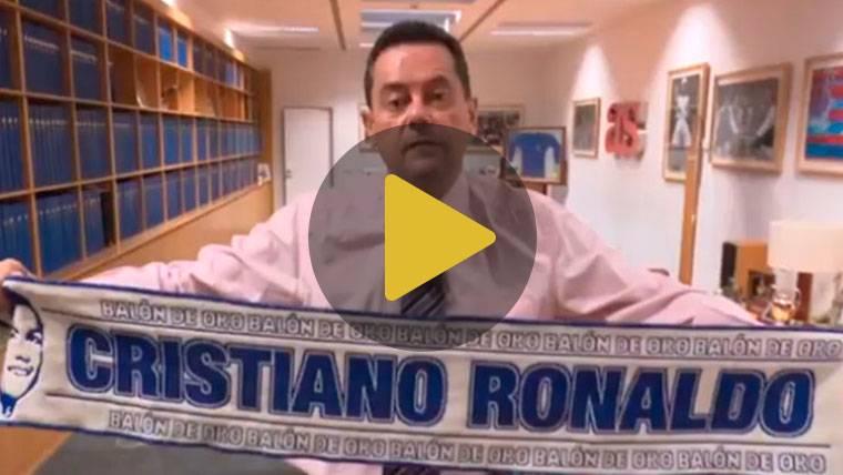 Roncero vuelve a acordarse de Messi para elogiar a Cristiano