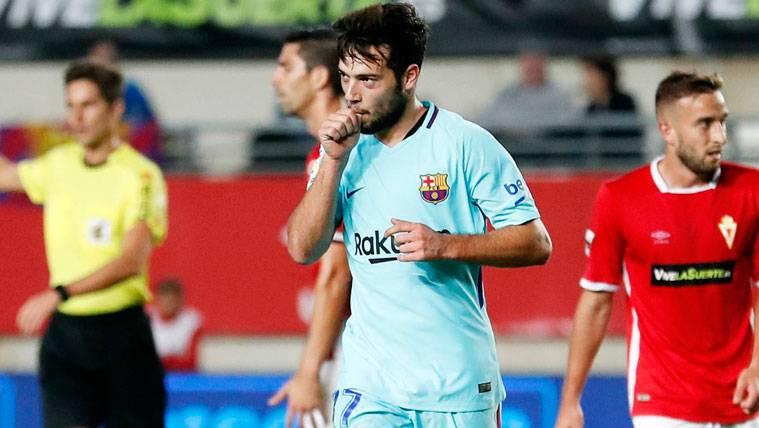 Las primeras palabras de Arnáiz tras su debut con el Barça