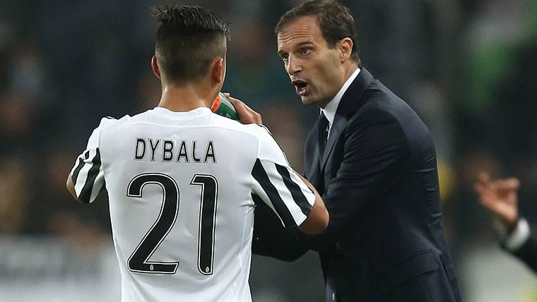 Allegri responde a la polémica con Dybala tras sus insultos