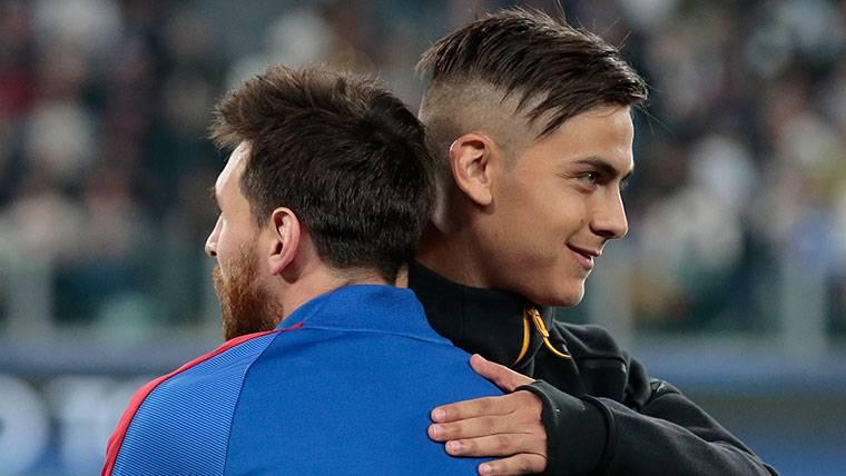 ENCAJE: Dybala y Messi pueden acabar jugando juntos