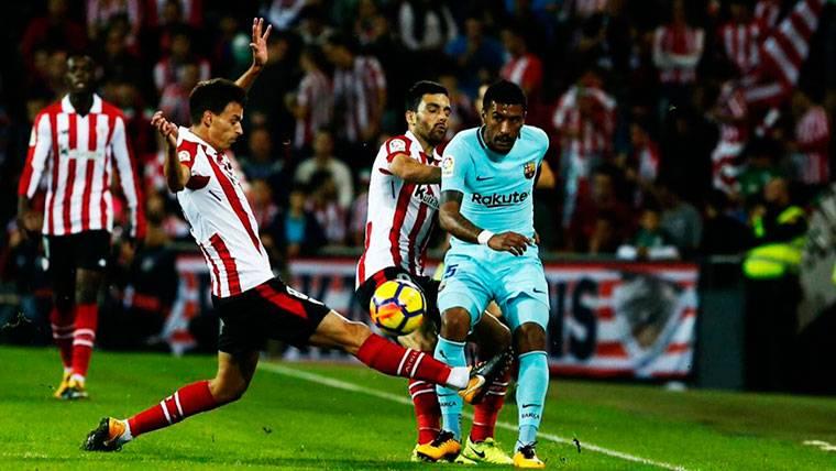 Paulinho sentenció al Athletic y empata a goles con Suárez