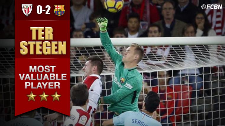 El MVP del Athletic - Barcelona: Marc-André Ter Stegen