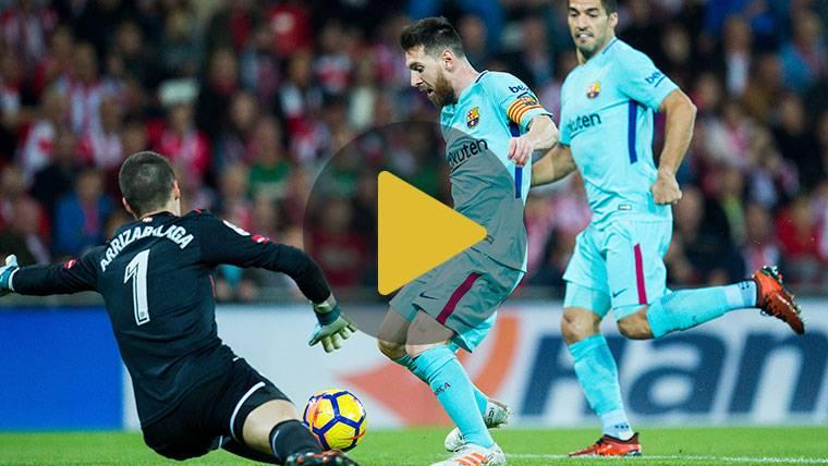 Vídeo resumen: Athletic 0 FC Barcelona 2 (LaLiga J10)