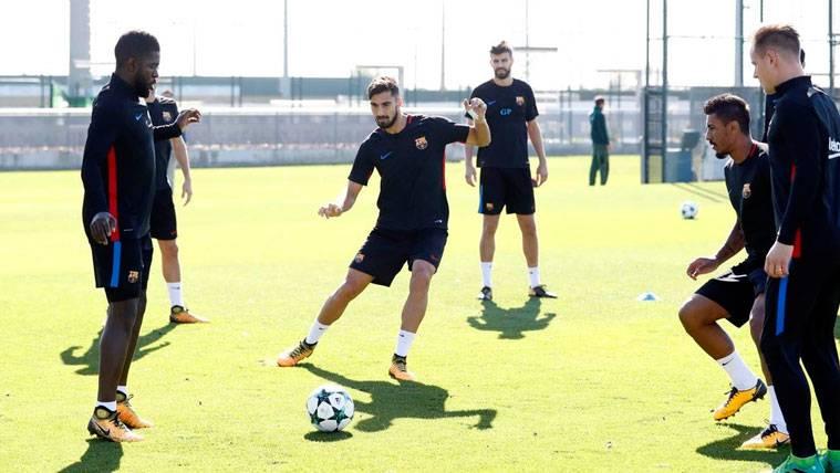 Lista de convocados de Valverde para el Olympiacos-Barcelona