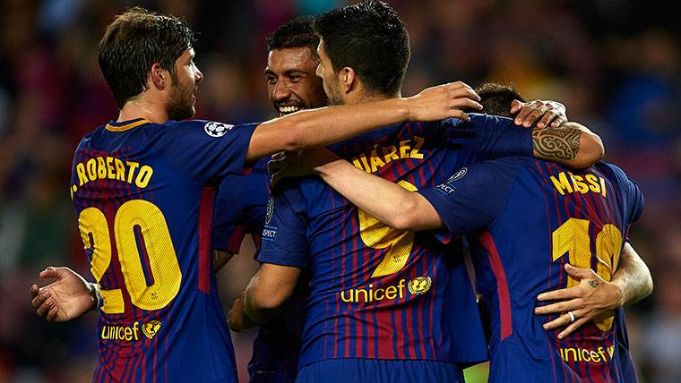 El Barça, a por la clasificación matemática en Champions