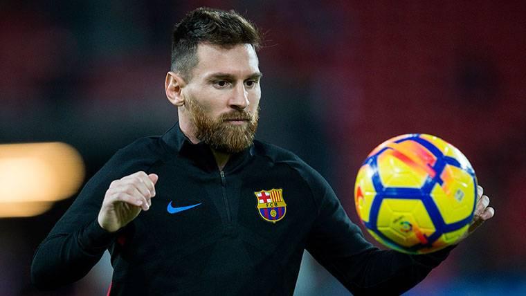 Novedades sobre el estado físico de Messi en el Barcelona
