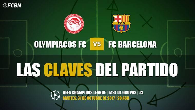 Las tres claves del Olympiacos-Barcelona (Champions J4)